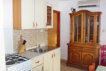 Vidalići, Kuchyně v ubytování typu apartment, s klimatizací, domácí mazlíčci povoleni a WiFi.