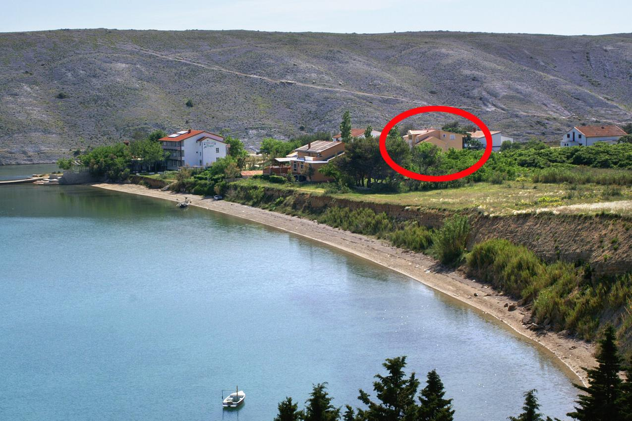Ferienwohnung im Ort Vlaaii (Pag), Kapazität 6+2 (1012020), Vlasici, Insel Pag, Kvarner, Kroatien, Bild 1