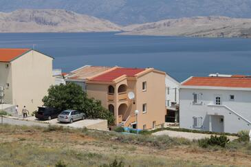 Pag, Pag, Property 6542 - Apartments with sandy beach.