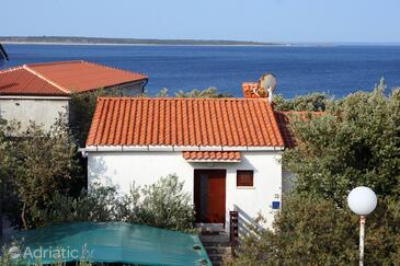 Mandre, Pag, Objekt 6545 - Ubytování v blízkosti moře s oblázkovou pláží.