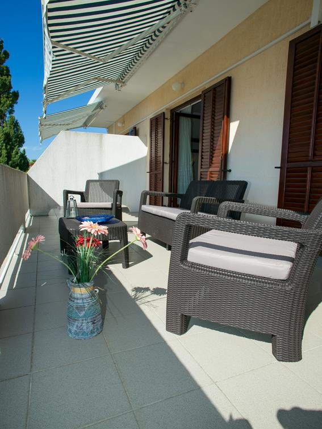 Appartement de vacances im Ort Novalja (Pag), Kapazität 2+2 (2820233), Novalja, Île de Pag, Kvarner, Croatie, image 9