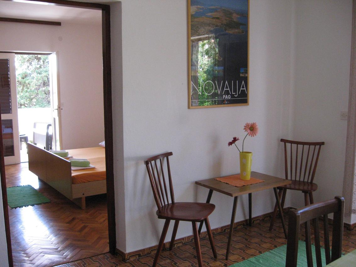 Appartement de vacances im Ort Novalja (Pag), Kapazität 2+3 (2820229), Novalja, Île de Pag, Kvarner, Croatie, image 2