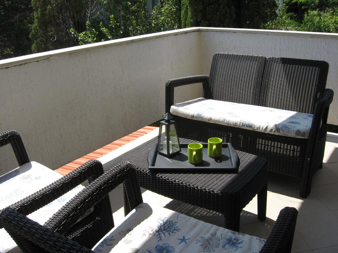 Appartement de vacances im Ort Novalja (Pag), Kapazität 2+3 (2820229), Novalja, Île de Pag, Kvarner, Croatie, image 8