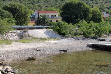 Seline, Paklenica, Property 6564 - Apartments near sea with pebble beach.