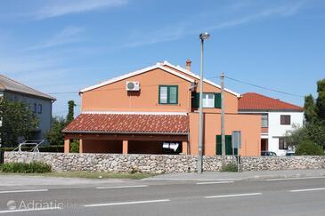 Seline, Paklenica, Property 6574 - Apartments near sea with pebble beach.