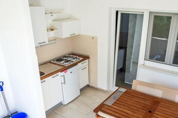 Starigrad, Kitchen in the apartment, dopusteni kucni ljubimci i WIFI.