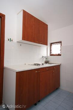 Starigrad, Kuchyně v ubytování typu studio-apartment, WiFi.