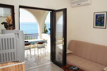 Pisak, Гостиная в размещении типа apartment, доступный кондиционер, Домашние животные допускаются и WiFi.