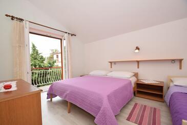 Starigrad, Sypialnia w zakwaterowaniu typu room, WIFI.