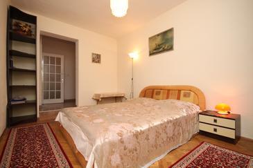 Podgora, Dnevni boravak u smještaju tipa apartment, kućni ljubimci dozvoljeni i WiFi.