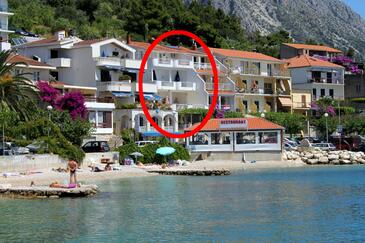 Podgora, Makarska, Property 6596 - Apartments near sea with pebble beach.