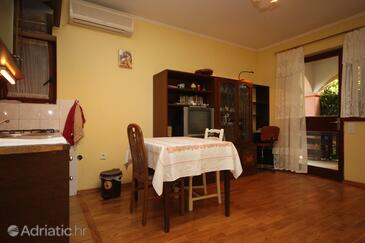 Maslenica, Dining room in the apartment.