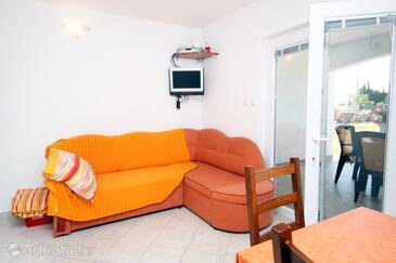Seline, Obývací pokoj v ubytování typu apartment, WiFi.