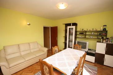 Starigrad, Pokój dzienny w zakwaterowaniu typu apartment, WIFI.