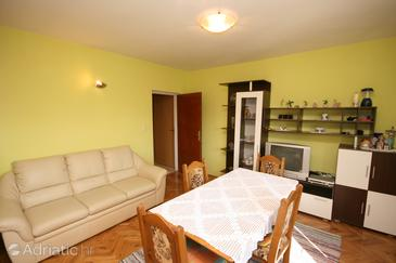 Starigrad, Living room in the apartment, WIFI.