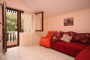 Zaton, Living room in the apartment, WIFI.