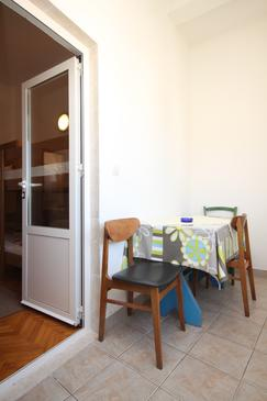 Starigrad, Dining room in the apartment, dopusteni kucni ljubimci i WIFI.