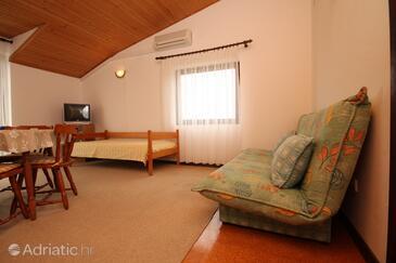 Starigrad, Гостиная в размещении типа apartment, доступный кондиционер, Домашние животные допускаются и WiFi.