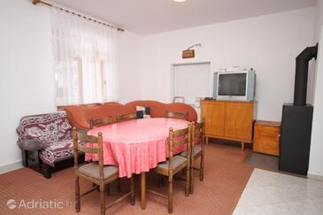 Seline, Dnevni boravak u smještaju tipa apartment, WiFi.