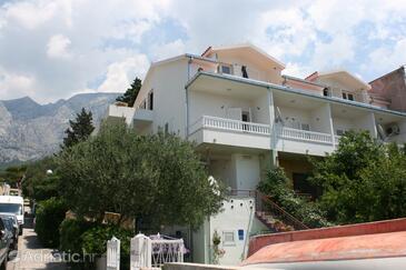 Makarska, Makarska, Property 6636 - Apartments with pebble beach.