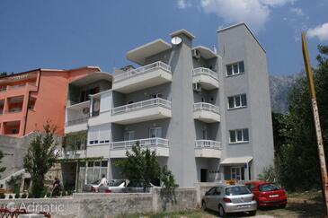 Makarska, Makarska, Объект 6641 - Апартаменты с галечным пляжем.