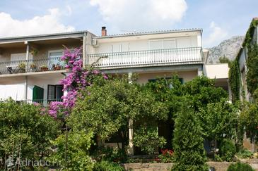 Podgora, Makarska, Propiedad 6646 - Apartamentos with pebble beach.