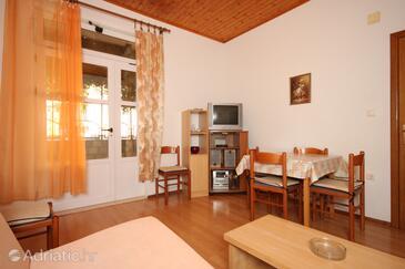Makarska, Dining room in the apartment, dopusteni kucni ljubimci i WIFI.