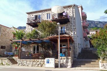 Gradac, Makarska, Property 6661 - Apartments near sea with pebble beach.