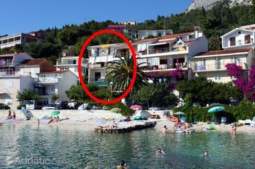 Podgora, Makarska, Property 6670 - Apartments near sea with pebble beach.
