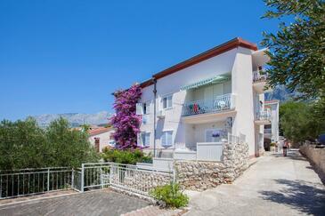 Podgora, Makarska, Propiedad 6671 - Apartamentos near sea with pebble beach.
