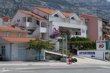 Makarska, Makarska, Objekt 6693 - Ubytování s oblázkovou pláží.