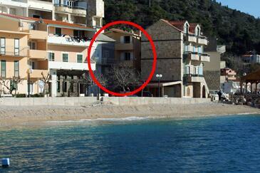 Drašnice, Makarska, Objekt 6697 - Ubytování v blízkosti moře s oblázkovou pláží.