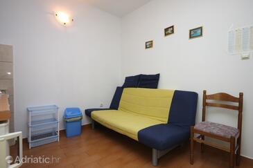 Živogošće - Porat, Living room in the apartment, WiFi.