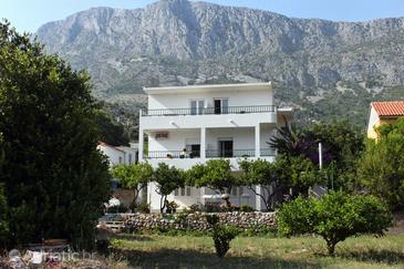 Drvenik Donja vala, Makarska, Obiekt 6701 - Apartamenty przy morzu ze żwirową plażą.