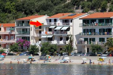 Podgora, Makarska, Objekt 6713 - Ubytování v blízkosti moře s oblázkovou pláží.