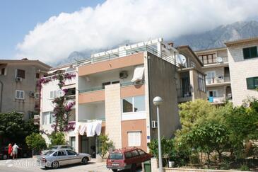 Makarska, Makarska, Property 6721 - Apartments with pebble beach.