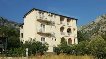 Gradac, Makarska, Objekt 6724 - Ubytování s oblázkovou pláží.