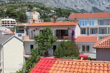 Baška Voda, Makarska, Alloggio 6748 - Appartamenti e camere vicino al mare con la spiaggia ghiaiosa.