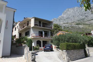 Krvavica, Makarska, Объект 6749 - Апартаменты с галечным пляжем.