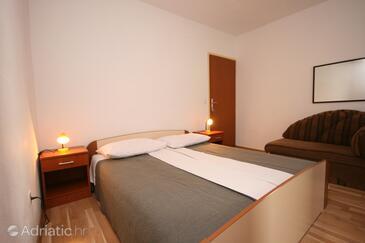 Živogošće - Blato, Bedroom in the room, dostupna klima, dopusteni kucni ljubimci i WIFI.