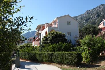 Gradac, Makarska, Obiekt 6757 - Apartamenty ze żwirową plażą.