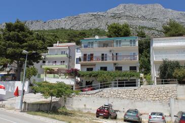Baška Voda, Makarska, Objekt 6761 - Ubytování s oblázkovou pláží.