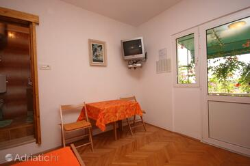 Krvavica, Dining room in the studio-apartment.