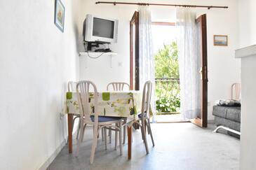 Tučepi, Jedilnica v nastanitvi vrste apartment, Hišni ljubljenčki dovoljeni in WiFi.