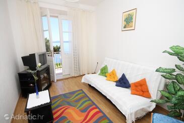 Podgora, Гостиная в размещении типа apartment, Домашние животные допускаются и WiFi.