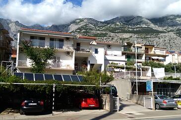 Makarska, Makarska, Объект 6784 - Апартаменты с галечным пляжем.