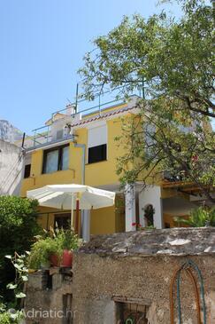 Baška Voda, Makarska, Property 6785 - Apartments with pebble beach.