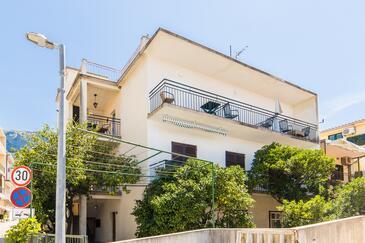 Podgora, Makarska, Property 6789 - Apartments near sea with pebble beach.