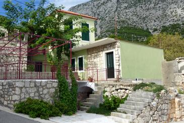 Igrane, Makarska, Objekt 6796 - Apartmani sa šljunčanom plažom.