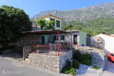 Igrane, Makarska, Property 6796 - Apartments with pebble beach.
